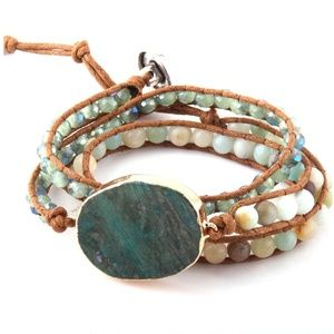 New! Women's Gemstone Bracelet